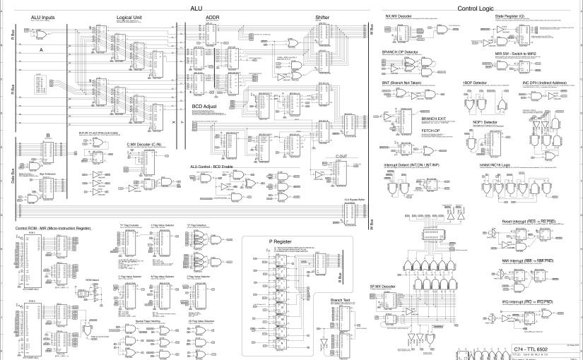 Internals – C74-6502 CPU